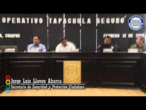 """Gobierno del Estado implementa Operativo """"Tapachula Seguro"""""""