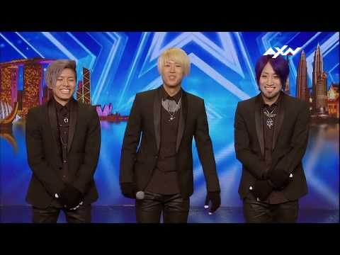 Asia's Got Talent || XTRAP Performers from Japan