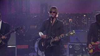 Interpol - Barricade, Live On Letterman Show