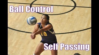 Volleyball Solo Drills: Passing
