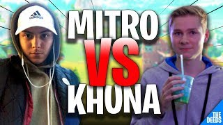 Atlantis Mitro 1 VS 1 Atlantis Khuna #4 | Fortnite Creative Mode 1v1 Build Fights