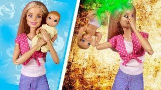 БАРБИ ПЛОХАЯ ИЛИ ХОРОШАЯ МАМА?! Играем в куклы Мама Барби