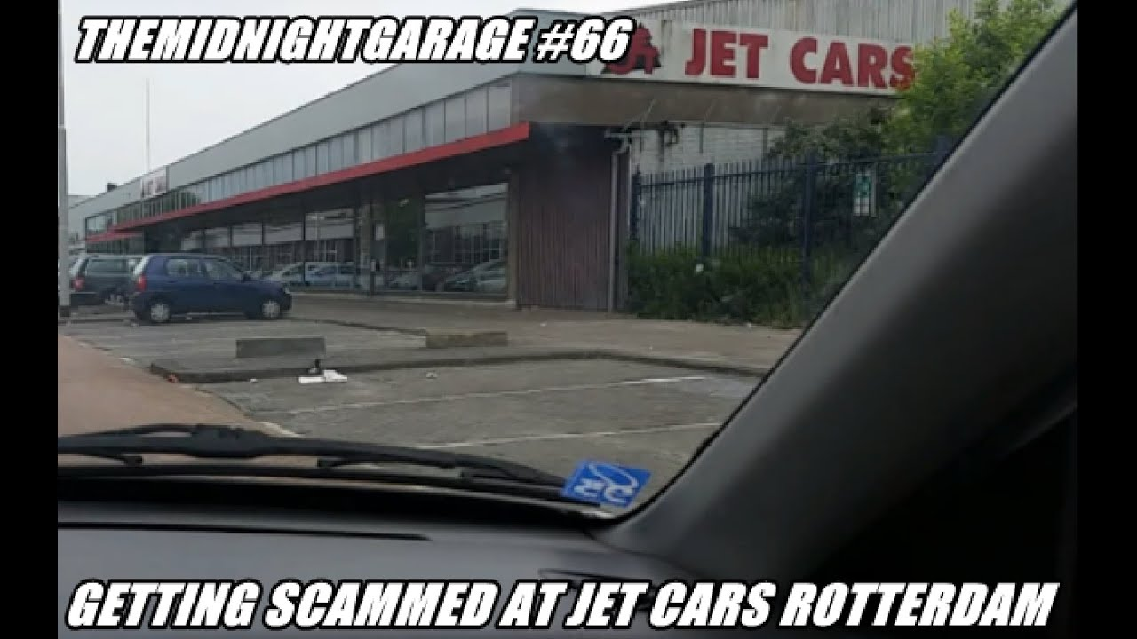 we almost got scammed at jet cars rotterdam