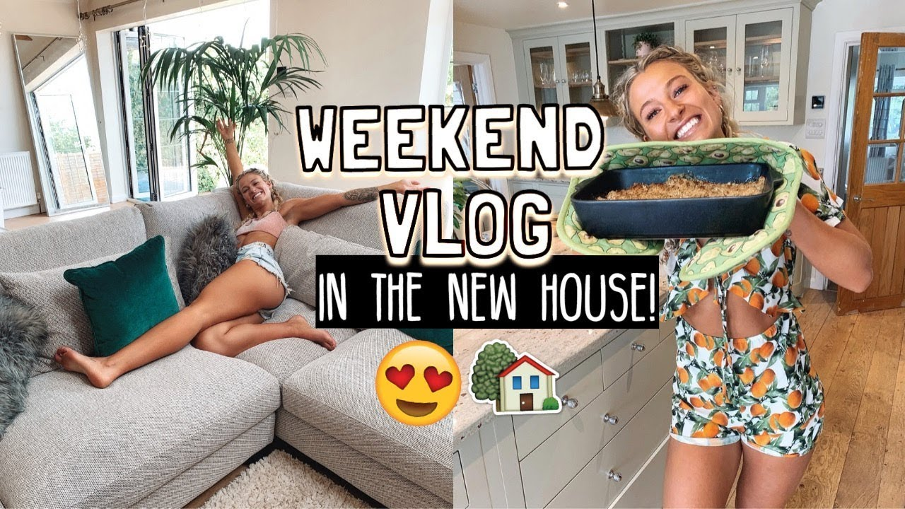 FIRST WEEKEND IN THE NEW HOUSE: NEW SOFA & HOMEWARE SHOPPING!