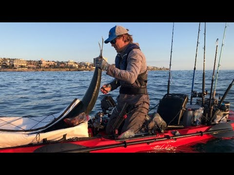 Texan Goes Offshore Kayak Fishing In San Diego, La Jolla Shores CA