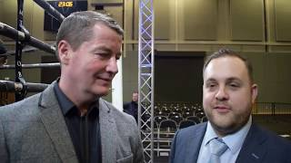 'IT WAS A GREAT SHOW, EVERYONE IS BUZZING' - DANNY VAUGHAN & LEE EATON REACT ON MTK SCOTLAND SHOW