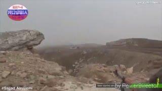 Сирия 2016 Syria  ИГИЛ с сирийскими войсками в упор воюют
