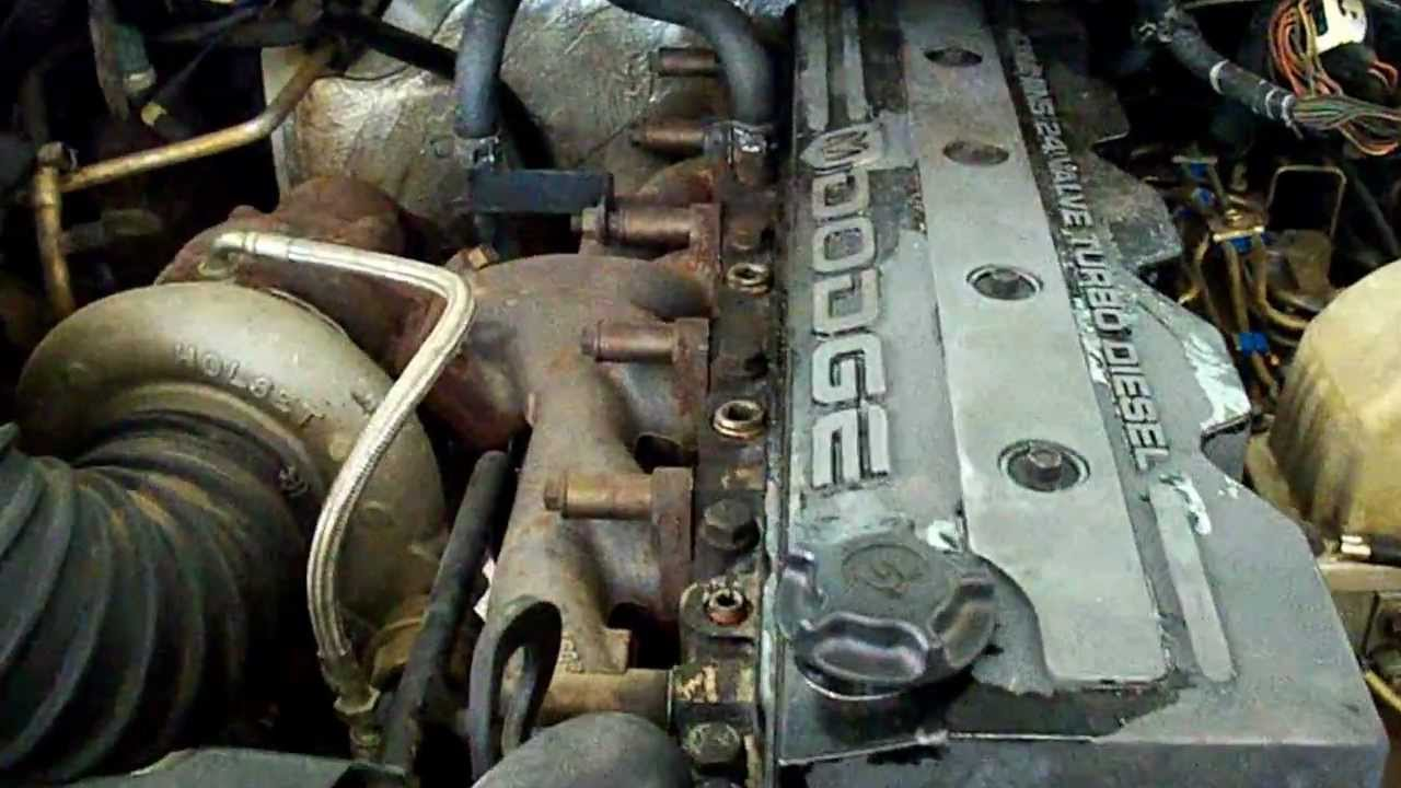 2000 Dodge Ram Cummins 5.9L 24 Valve Engine - YouTube