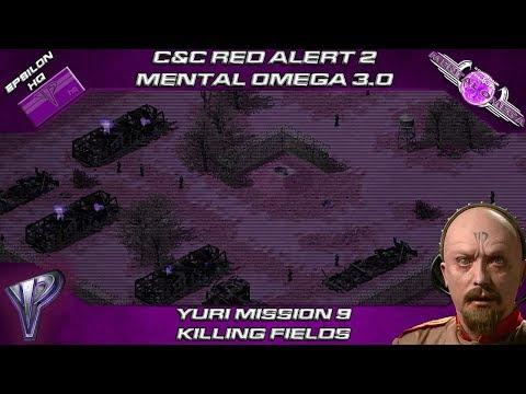 Mental Omega 3.0 Red Alert 2 Act I - Yuri Mission 9 Killing Fields
