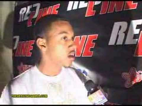 Wesley Jonathan at the Redline Movie Release Party