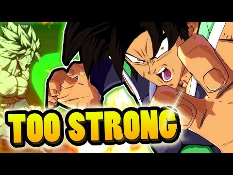 DBS BROLY IS TOO STRONG! | Dragonball FighterZ Ranked Matches