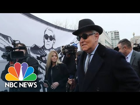 Trump Associate Roger Stone Faces Sentencing   NBC News (Live Stream Recording)