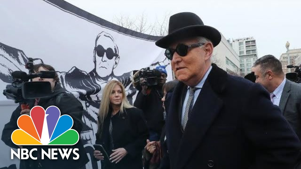 Trump Associate Roger Stone Faces Sentencing | NBC News (Live Stream Recording)