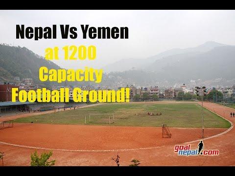 Nepal Vs Yemen At 1200 Capacity APF Ground On June 13, 2017 !!