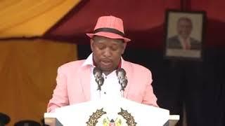Nairobi Governor Mike Sonko speech at National Police Service Customer Service week at Railway Club