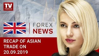 InstaForex tv news: 20.09.2019: USD weighed down by world's central banks monetary policies (USDX, JPY, USD, AUD)