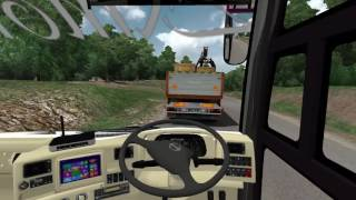 Euro Truck Simulator 2 Bus Indonesia Ngeblong