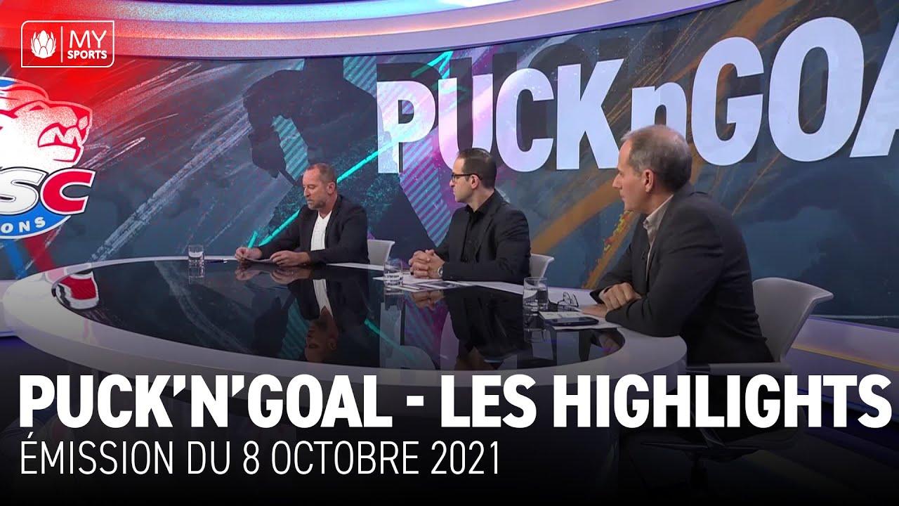 Download Puck'n'Goal - Les highlights du 8 octobre 2021