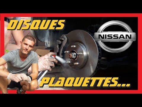 tuto changer les disques et plaquettes de freins av sur nissan qashqai youtube. Black Bedroom Furniture Sets. Home Design Ideas