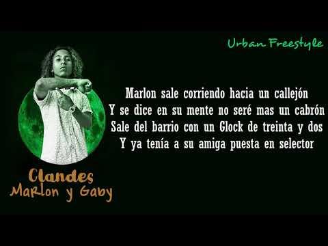 Clandes  - Marlon y Gaby LETRA (Freestyle Acustico)