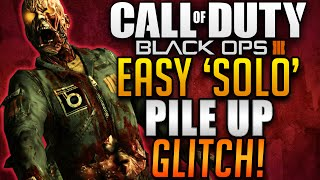 Black Ops 3 Zombie Glitches - Shadows Of Evil Easy SOLO Pile Up Glitch! (BO3 Zombie Glitches)