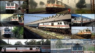 Dedicated to all the white stallion lovers... here i present an informative tribute most powerful passenger class locomotive aka wap-7. with serene wh...