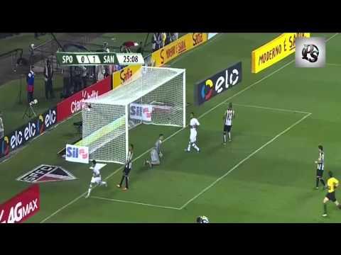 All Goals SAO PAULO VS SANTOS PC 1-3