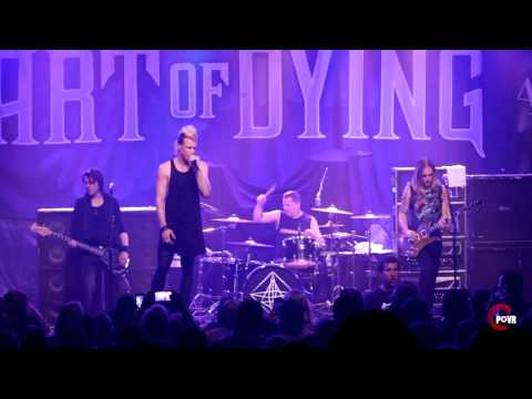 Art Of Dying - Shadowmaker Tour - FULL SET live in HD! - Raleigh, NC