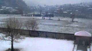 snow fall in Chitral