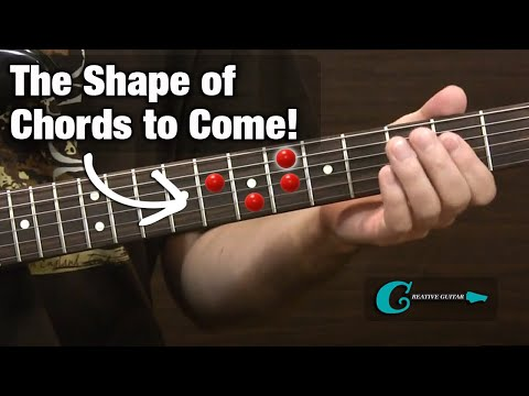 BEGINNER GUITAR: The Shape of Chords to Come
