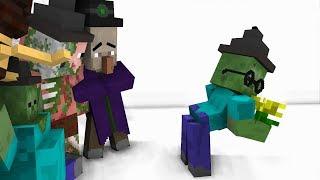 Monster Magic School: Wand and broom  - Minecraft animation