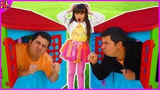 Laurinha clonou o papai e eles viraram gemeos - Laurinha cloned daddy and they became twins 👶