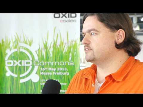 OXID Commons 2013 - Interview Mit Björn Schotte (Mayflower GmbH)