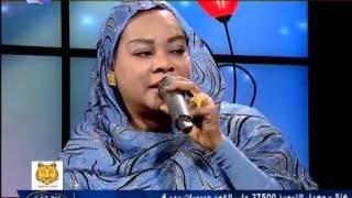 الفنانة سميرة دنيا  - برنامج 100 دقيقة  - قناة النيل الازرق