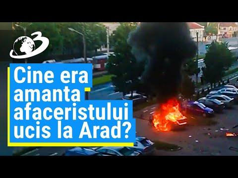 Cine era amanta afaceristului ucis la Arad?