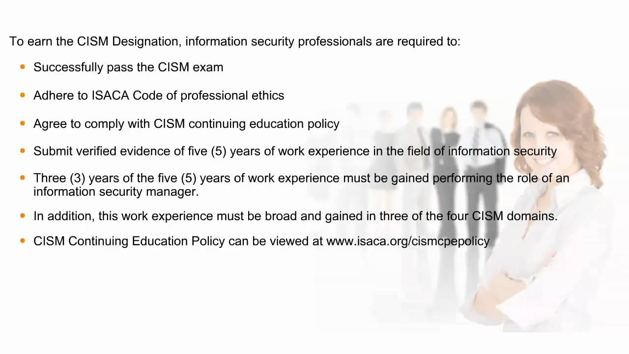 Introduction to cism cism exam syllabus youtube introduction to cism cism exam syllabus 1betcityfo Choice Image