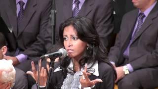 غريبة منسية - أميرة فوزى -  كورال التذوق المكتبة 1/11/2010