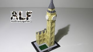 Lego Architecture 21013 Big Ben - Lego Speed Build Review