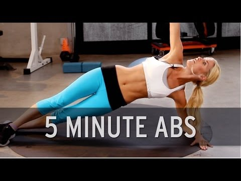 XHIT – 5 Minute Ab Workout