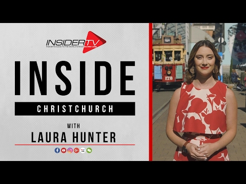 INSIDE Christchurch with Laura Hunter | Travel Guide | February 2017