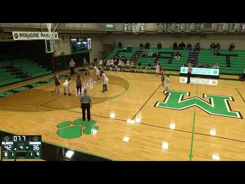 Mogadore High School vs. canton central catholic Varsity Womens' Basketball