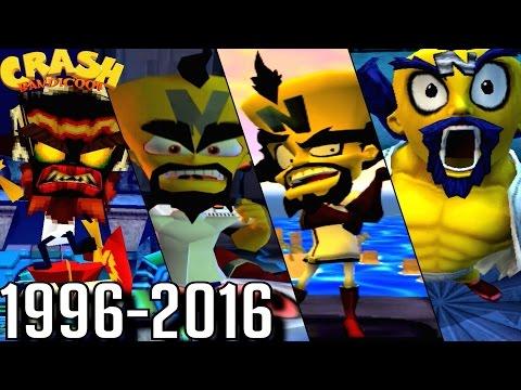 Evolution of Dr. Neo Cortex Battles in Crash Bandicoot Games (1996-2016)
