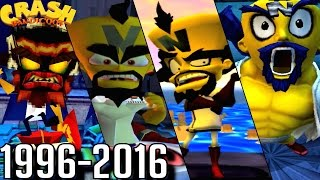 Evolution of Dr. Neo Cortex Battles in Crash Bandicoot Games (1996-2016)