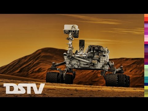 CURIOSITY MINING MINERALS ON PLANET MARS