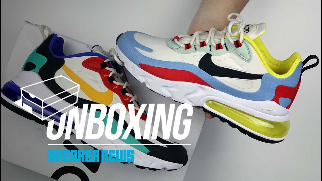 reputable site 032a0 70ce5 Air Max 270 React Unboxing + Review