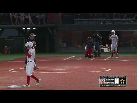 Extra Inning Softball Live Broadcast- Scrap Yard Fast Pitch Vs Team USA