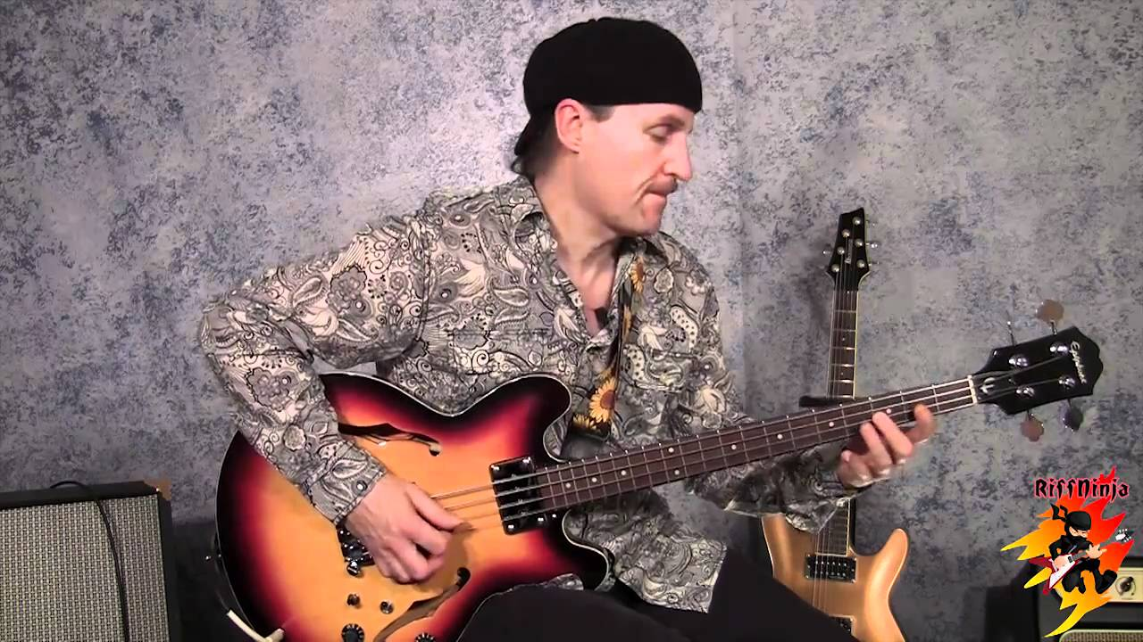 Walking Bass Lines With 12 Bar Blues Youtube