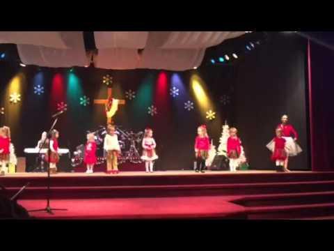 Christian Academy of the Cumberlands Christmas Program 2015 Dance of the Sugarplum Fairy