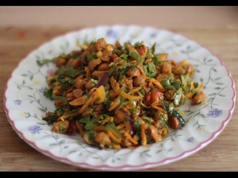 VEG CHOILA SOYA : NUTRELA (VEGAN FOOD) | HOW TO MAKE NUTRELA | EASY VEGAN FOOD
