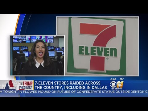 Immigration Raid At 7-Eleven Stores Nationwide